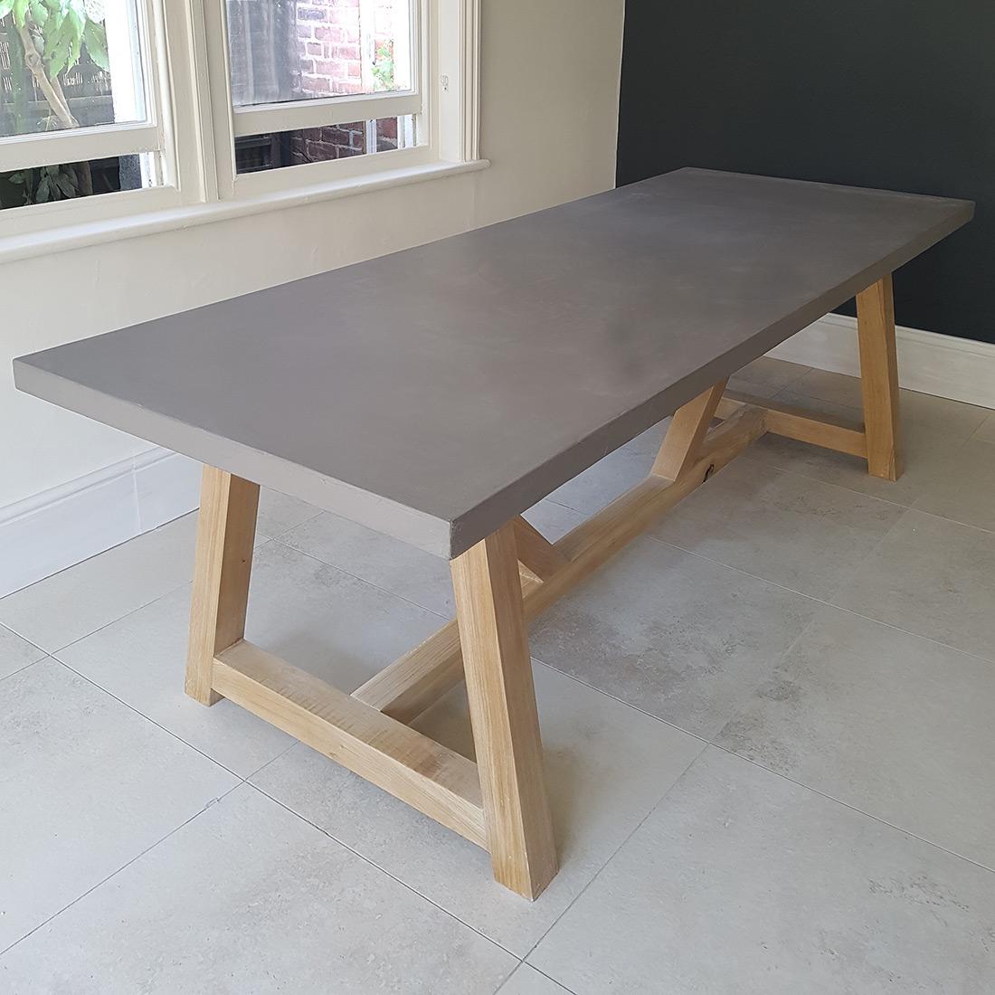 Patio Furniture Repair Santa Ana Ca: Concrete Table Designs